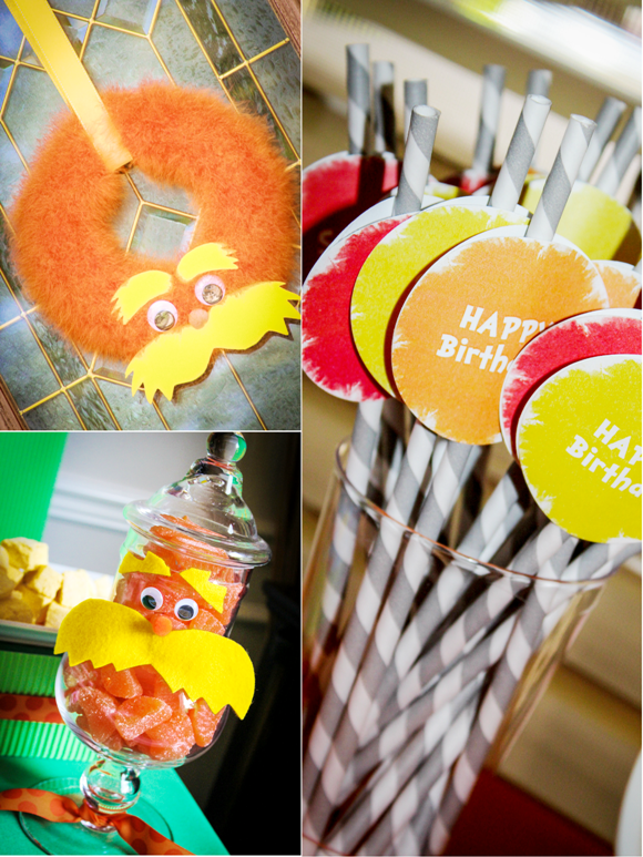 An Incredible Lorax Inspired Birthday Party - BirdsParty.com