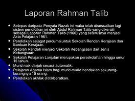 Penyata Rahman Talib Simple