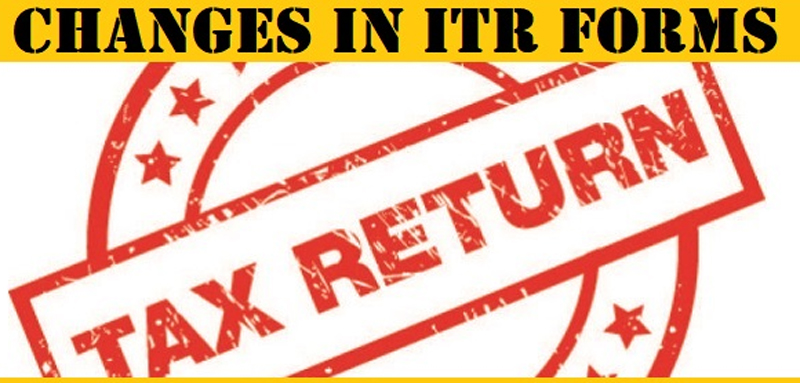 Changes in ITR rules