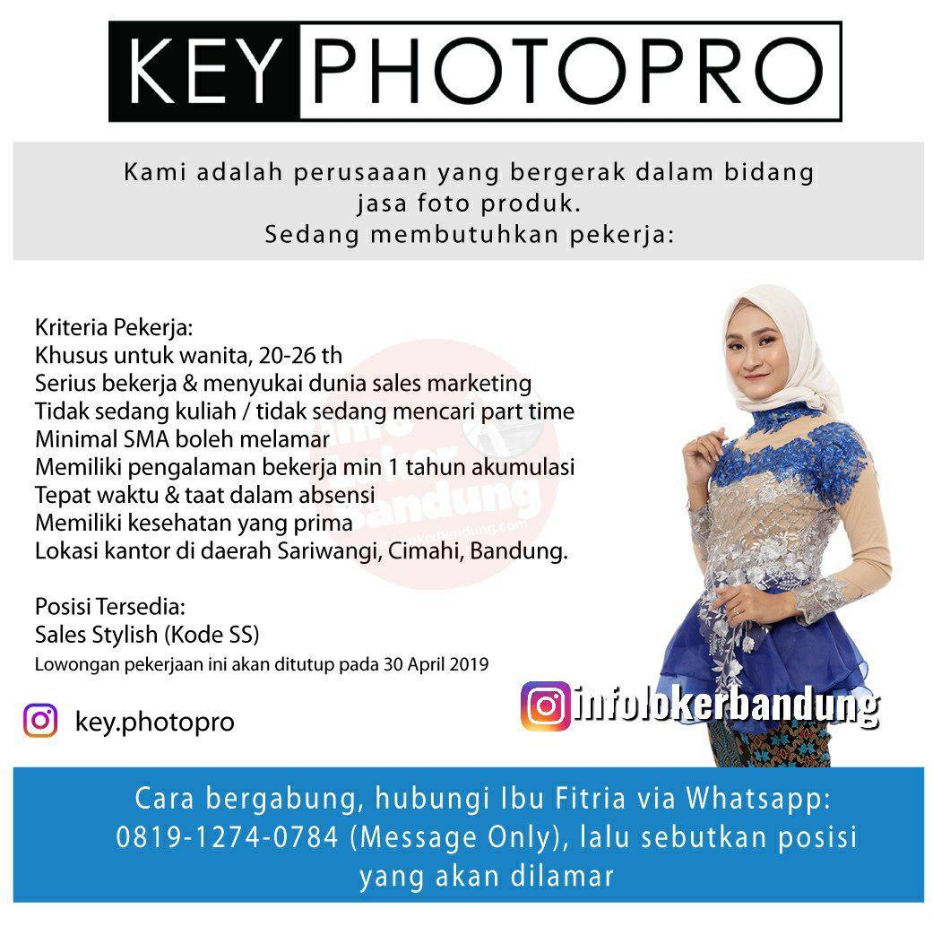 Lowongan Kerja Key Photopro Bandung April 2019