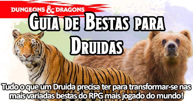 Bestas Druida D&D 5E