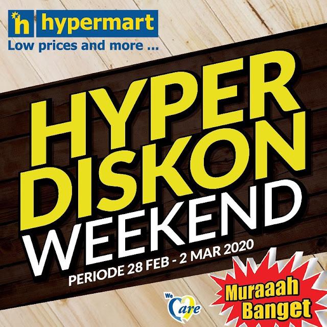 #Hypermart - #Katalog Promo Hyper Diskon Weekend Periode 28 Feb - 02 Mar 2020