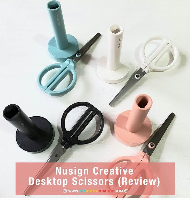 Nusign Creative Desktop Scissors (Stationery Review)