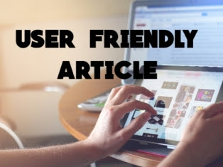 How To Write User Friendly Article In Hindi   User Friendly Article