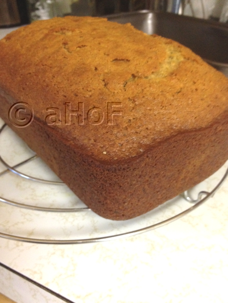 Honey Pistachio Loaf Fresh out of the Pan