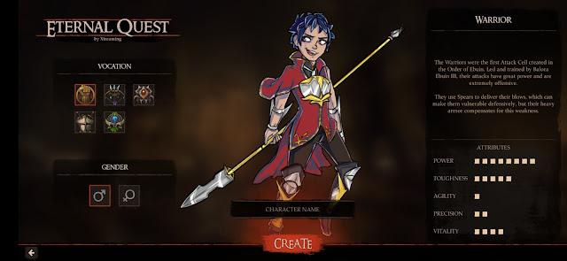 Eternal quest class