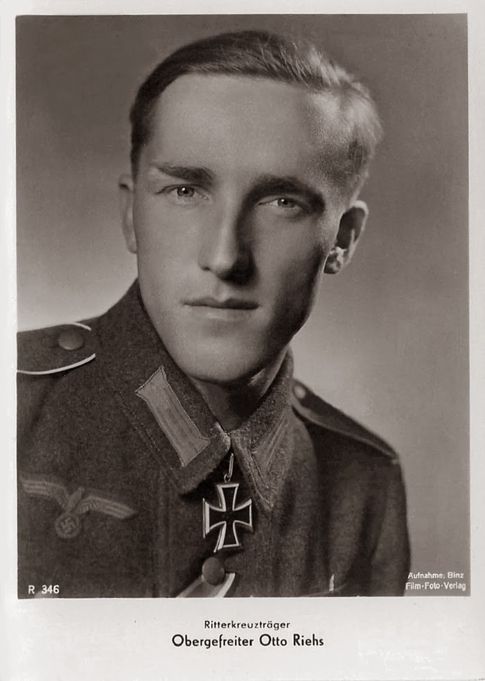 Otto Riehs Ritterkreuzträger Knight Cross Holder Postcard