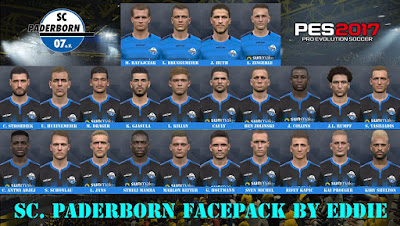 PES 2017 Facepack S.C Padeborn 2019 by Eddie Facemaker