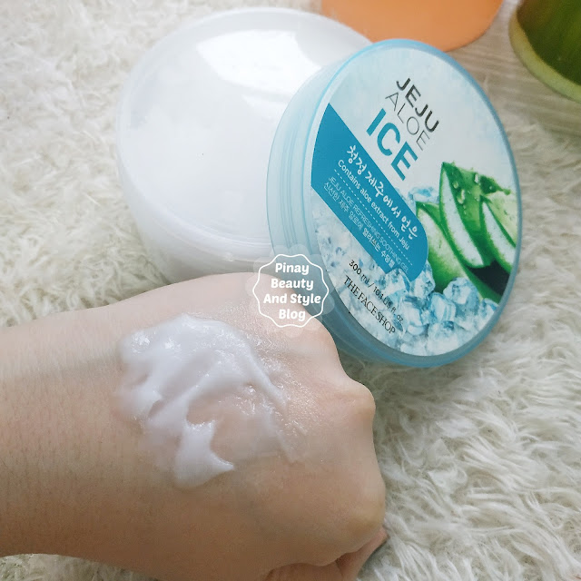 The Face Shop Jeju Aloe Ice Soothing Gel Review