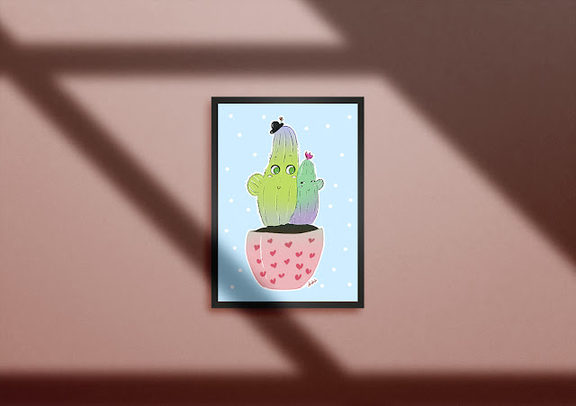 bebek odası için tablo