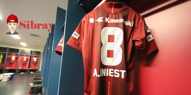 Debut Andres Iniesta di Liga Jepang Harus Menerima Kekalahan