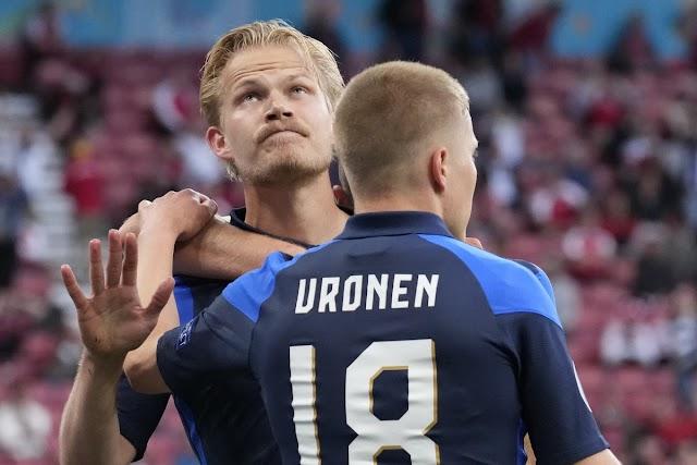 Δανία-Φινλανδία 0-1:Πρώτο τρίποντο  για τους ''πρωτάρηδες'' Φινλανδούς