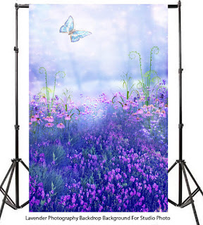 Lavender Photography Backdrop Background For Studio Photo