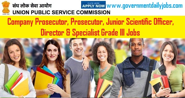 UPSC Recruitment 2019 for 14/2019 - 67 Posts