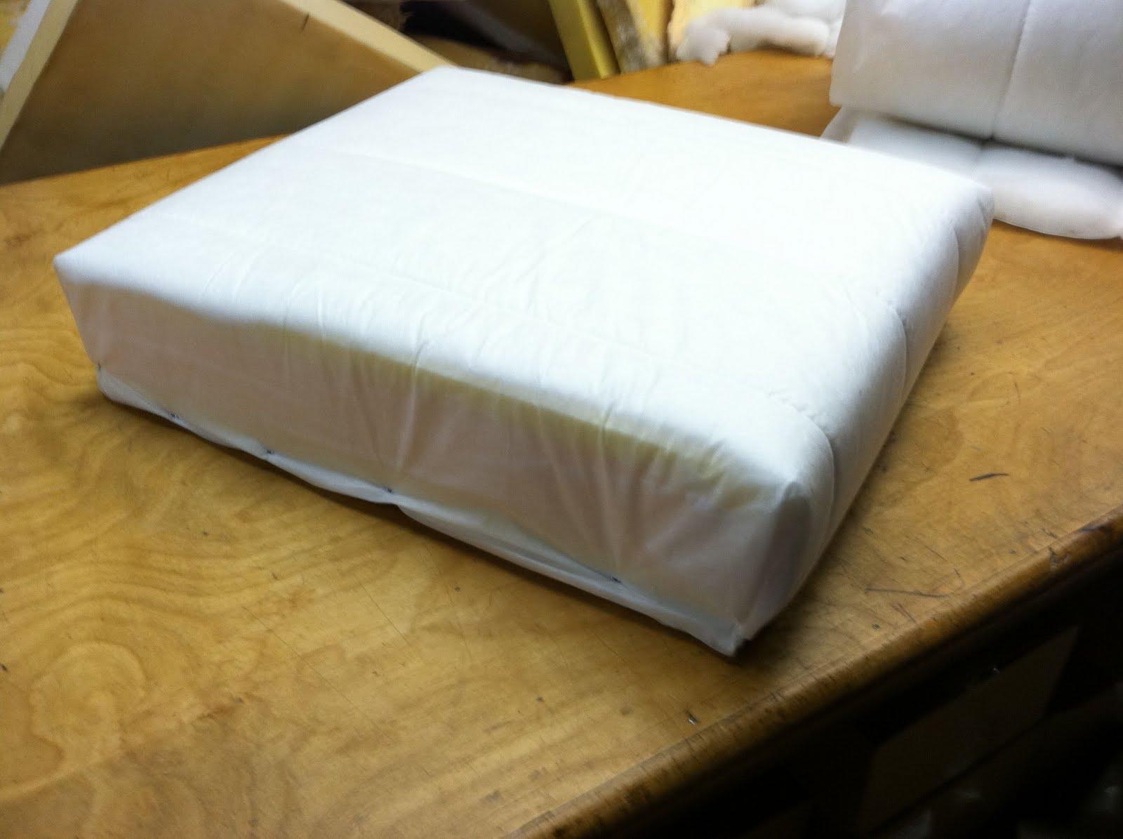 Wrap Foam Spring Unit With Dacron 91 Sewn One Side