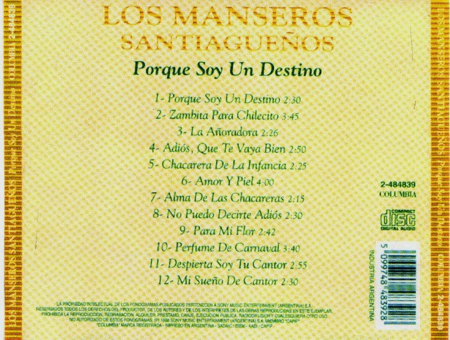 los manseros santiagueños descargar folklore