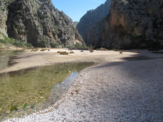 Felsenschlucht Torrent de Pareis Mallorca Spanien Balearen