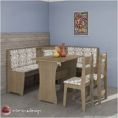 Corner Dining Table