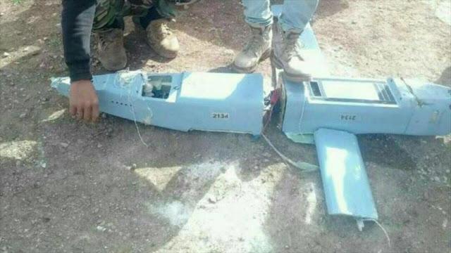 Rebeldes alegan haber derribado un dron ruso en el centro de Siria