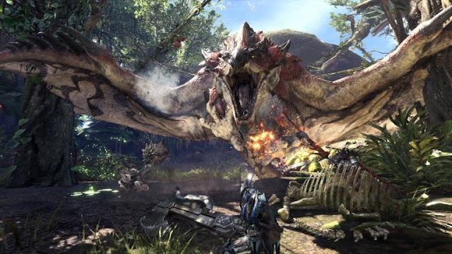لعبة Monster Hunter World تواصل تحطيم الأرقام و تصبح أكثر لعبة مبيعا في تاريخ Capcom ...