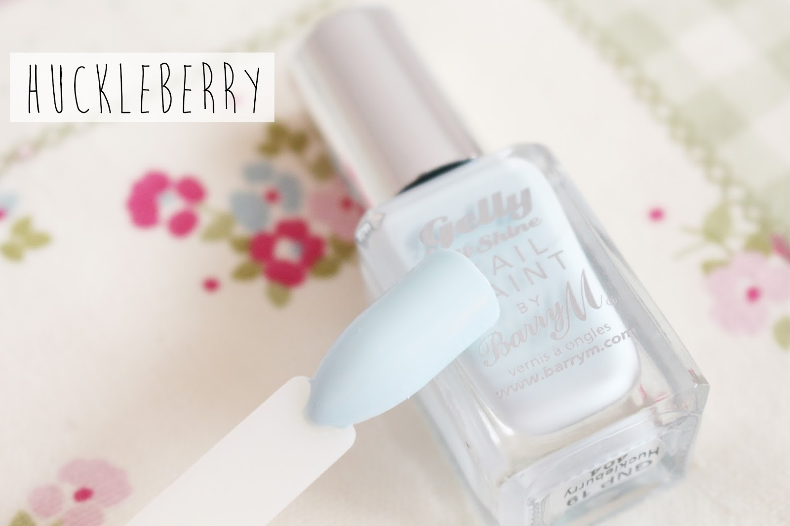 Barry M Gelly Nail Paint Spring HuckleBerry