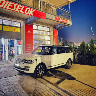 Range Rover 4.4D chiptuning by Dieselok Performance