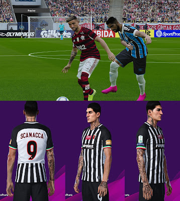 PES 2020 Mini Tattopack by SuperNova