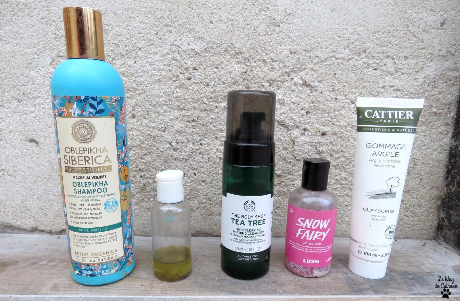 Routine naturel & bio sous la douche