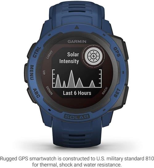 Review Garmin 010-02293-11 Solar-Powered Smartwatch