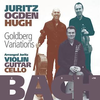 JS Bach, arr. David Juritz Goldberg Variations; David Juritz, Craig Ogden, Tim Hugh; Nimbus