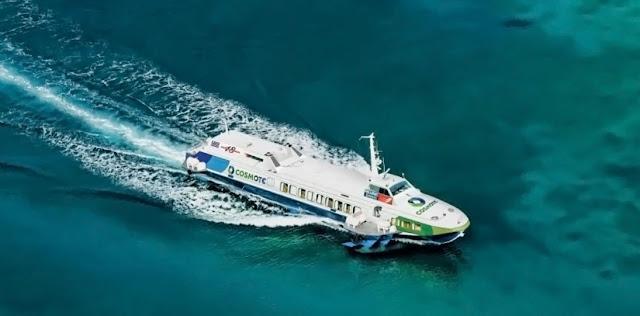 Μηχανική βλάβη σε Flying Dolfin με 15 επιβάτες στις Σπέτσες
