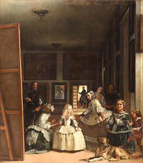 Las Meninas, c.1656 painting in Prado Museum, Madrid, by Diego Velázquez, the leading artist of the Spanish Golden Age.