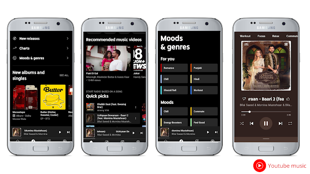 Youtube musicBest free music streaming app for Android