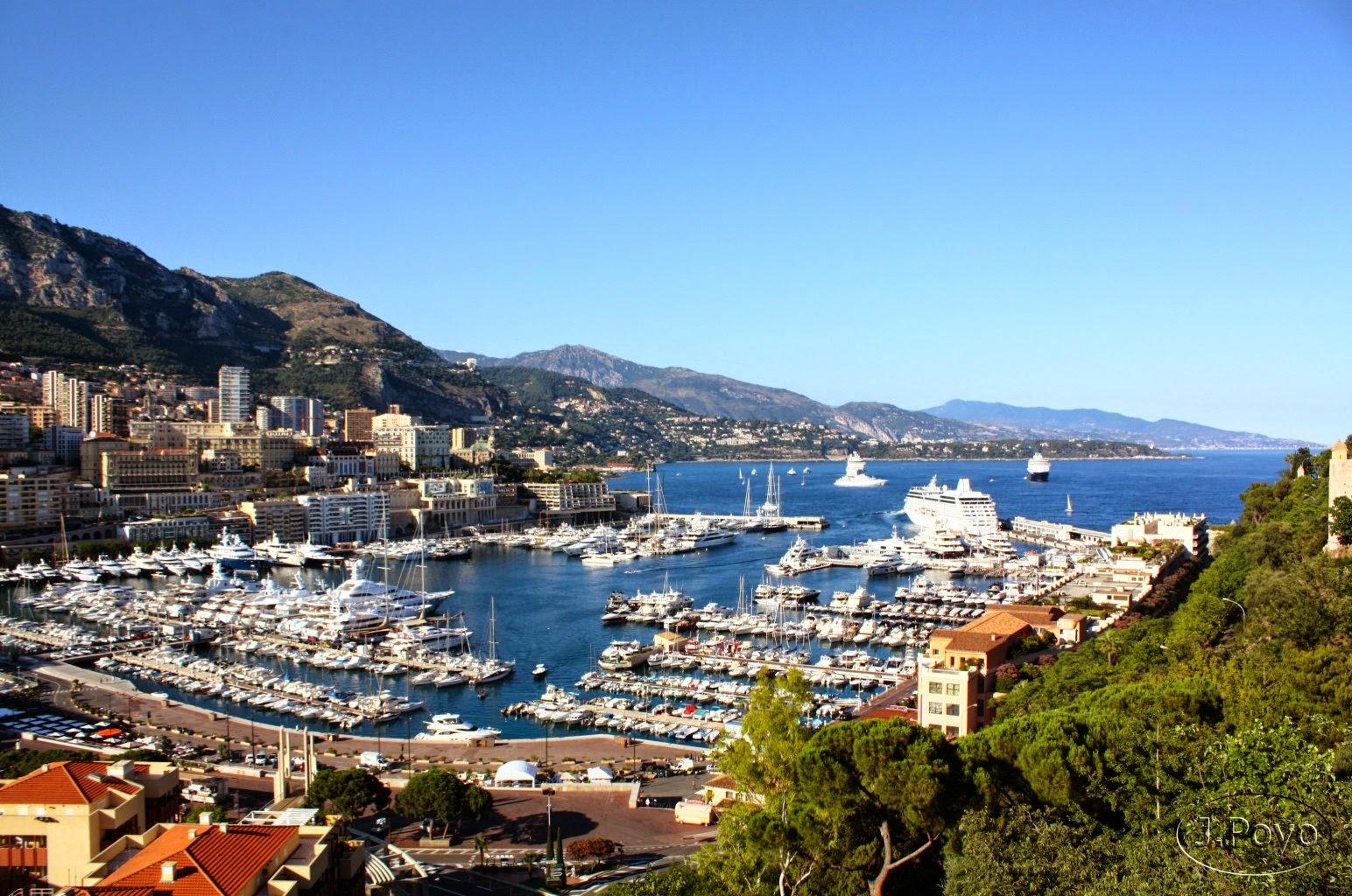 Mónaco, tanto en tan poco espacio