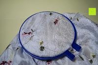 Stoff im Ring: 5 Teiliges Handi-Stitch Stickrahmen und Kreuzstich Set– 12,7 bis 28 cm ( Größen (28cm, 24cm, 20,5cm, 16,5cm & 12,7cm) – Verschiedene Farben