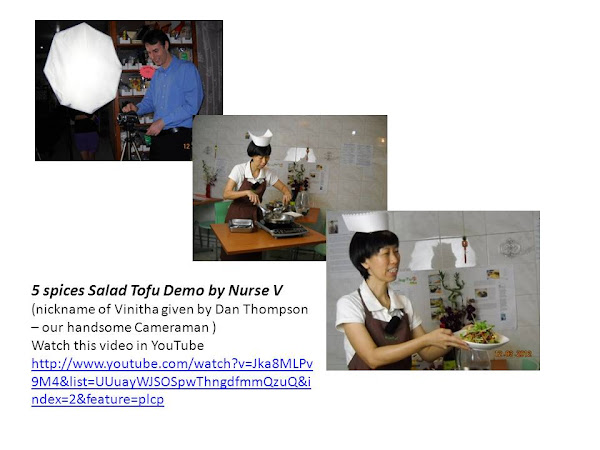 NutriMeal cooking Demo in YouTube