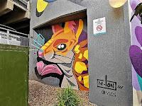 Manly Street Art by Miguel Gonzalez