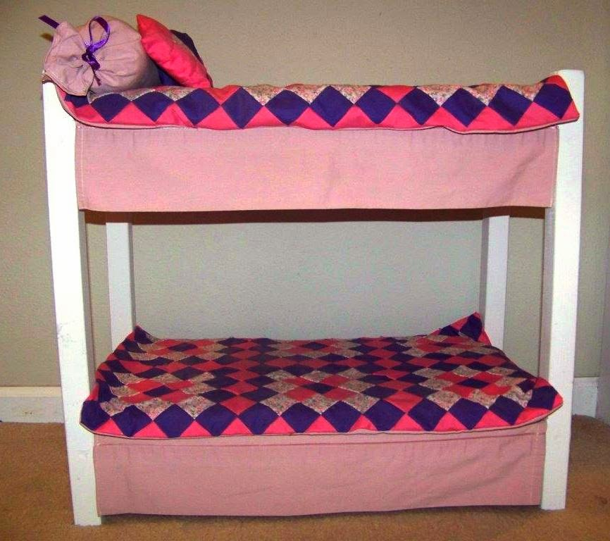 Living A Doll S Life Reader Photos Diy Doll Bed