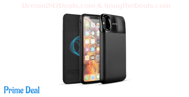 50% off  Wireless Battery Case for iPhone X/XS