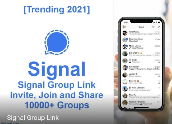 Signal Group Link – Invite, Join and Share, 10000+ Groups [Trending 2021] hot Signal group