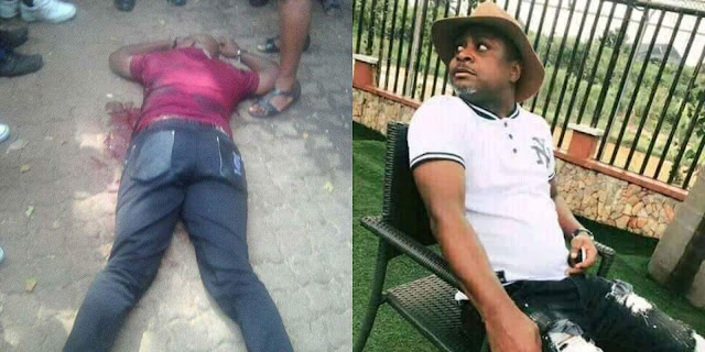 Ozubulu Crisis! See photos of another man shot dead in South Africa
