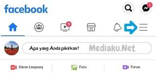 Mengurutkan Berita Terbaru Di Facebook Lewat HP