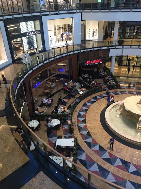 Another View of Marina Mall Dubai