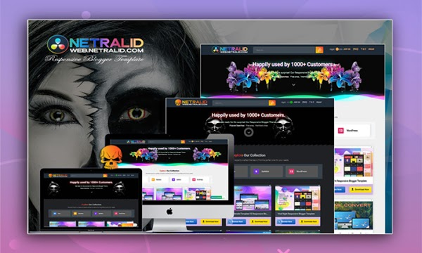 Netralid Costume - Responsive Blogger Template