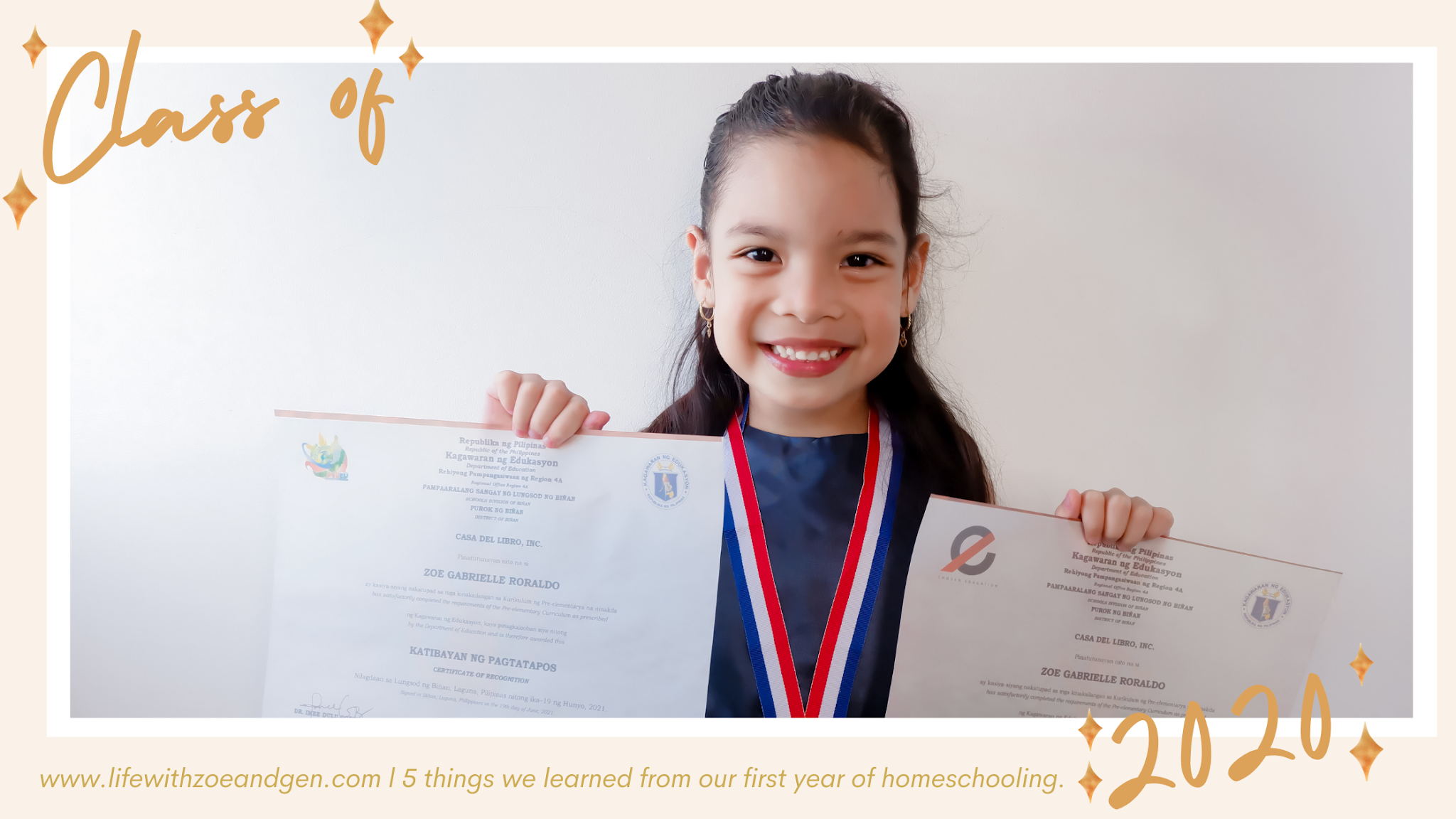 5 things we learned from our first year of homeschooling. l Life with ZG l Homeschooling Blog l Gen Roraldo l Mommy Blogger PH