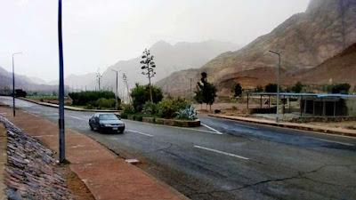 مصرع عامل وإصابة 3 بالوادي الجديد وأمطار غزيرة