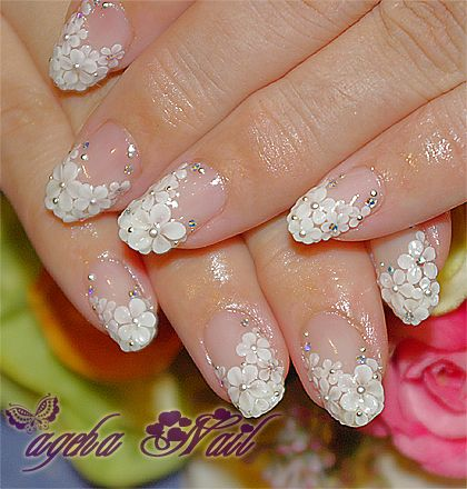 Sparkling Wedding Manicure Designs Gallery Share
