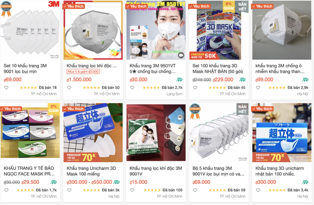 """Corona - khẩu trang online tăng giá đột biến với lý do: """"Nếu không mua thì sau này không có mà mua đâu"""""""