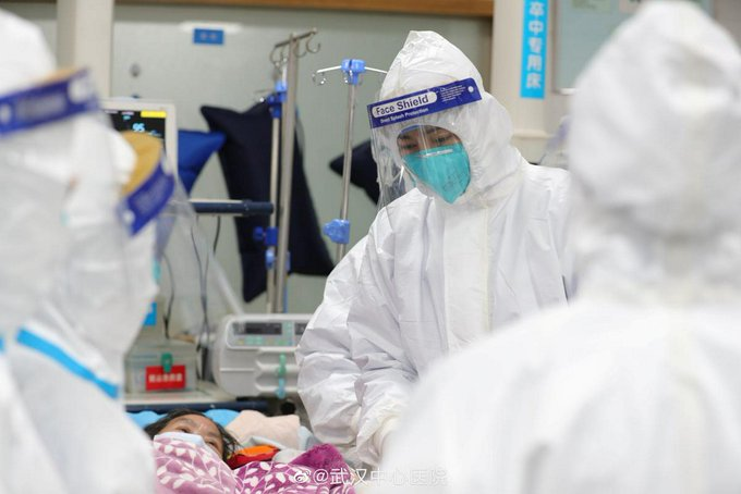 Chinese authorities confirm 1,287 coronavirus cases, with 41 deaths