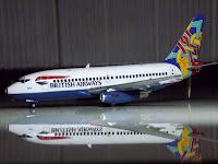 Boeing 737-200 British Airways Revell 1/200